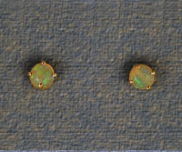 Crystal Opal Stud Earrings OE01
