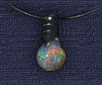 Floating Opal Chip Pendant OP30