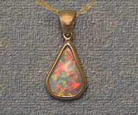 Fine Quality Crystal Opal Pendant OP11