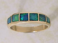 Inlaid Opal Ring IR10