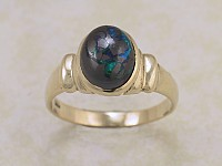Solid Opal Ring OR05