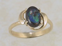 Solid Opal Ring OR06