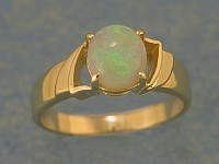Solid Opal Ring OR01