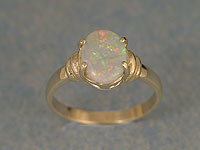 Solid Opal Ring OR03
